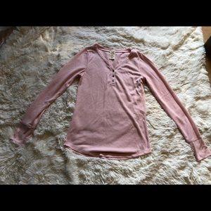Blush long sleeve shirt